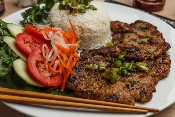 46. Pork Chop Rice Plate