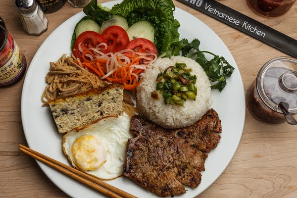53. Combination Broken Rice Plate