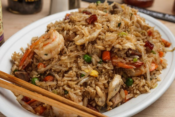 54. Combination Fried Rice Plate