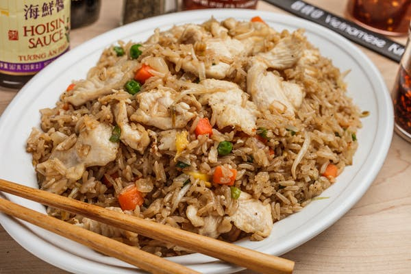 55. Chicken Fried Rice Plate