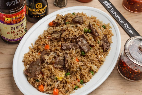 56. Beef Fried Rice Plate