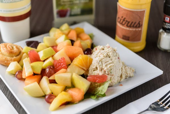 Chicken Salad & Fruit Plate