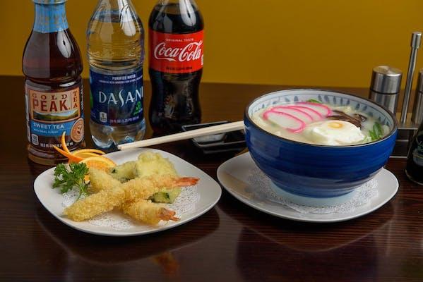 Tempura Noodle Soup Coca-Cola Combo