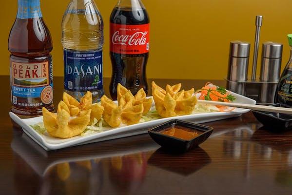 Crab Rangoon Coca-Cola Combo
