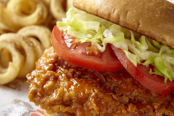 Hooters Original Buffalo Chicken Sandwich