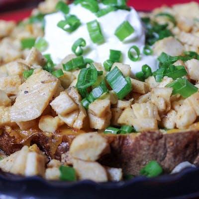 Grilled Chicken Potato