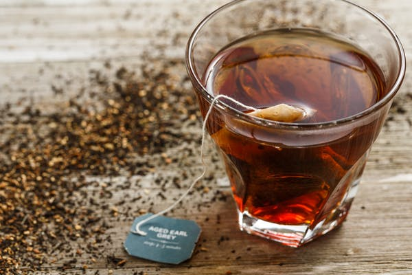 Aged Earl Grey Hot Tea