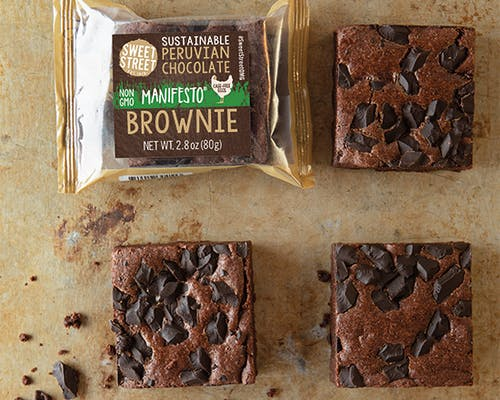 Peruvian Chocolate Brownie