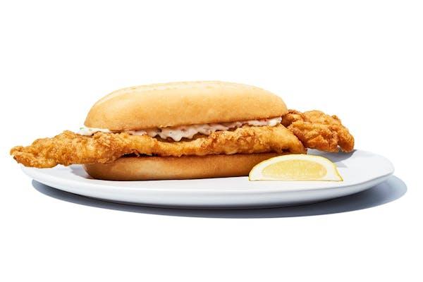 Big Fish Fried Sandwich