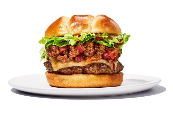 Southwest Chili Burger