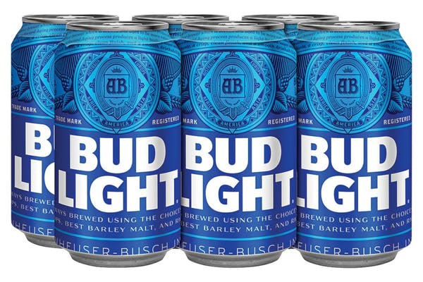Bud Light (6) Pack