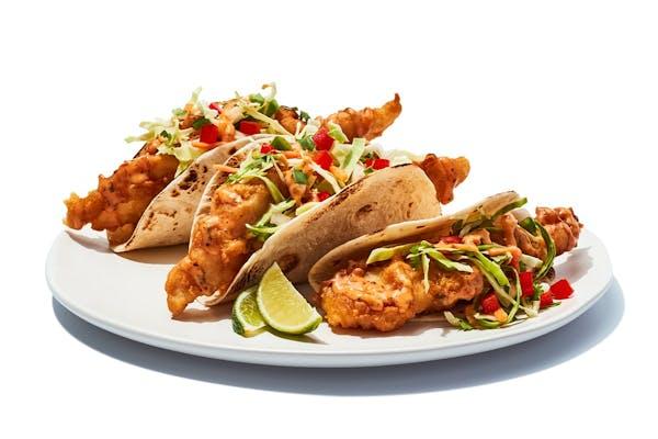 Fish Tacos Fried