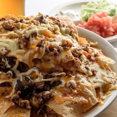 Beef, Grilled Chicken, or Pork Nachos