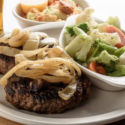 Hamburger Steak Dinner