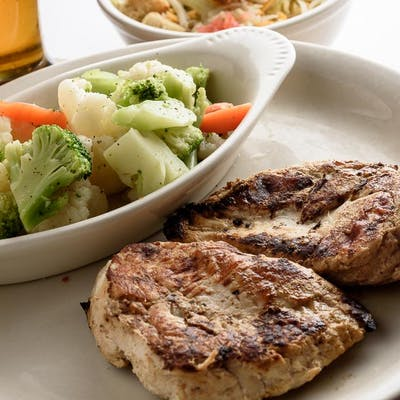 Grilled Chicken Breast Dinner