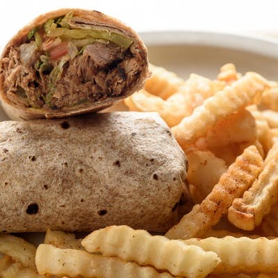 Pulled Pork Wrap