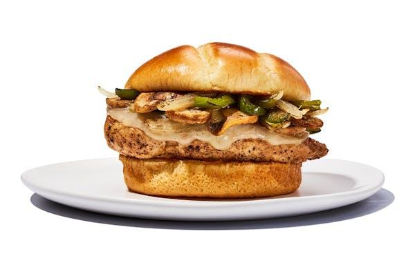 Smothered Chicken Sandwich