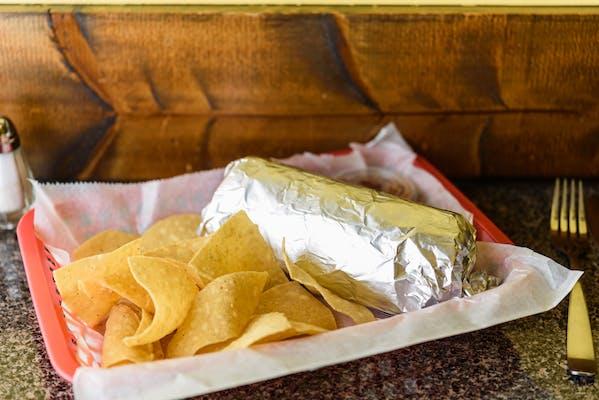 Ground Beef Burrito
