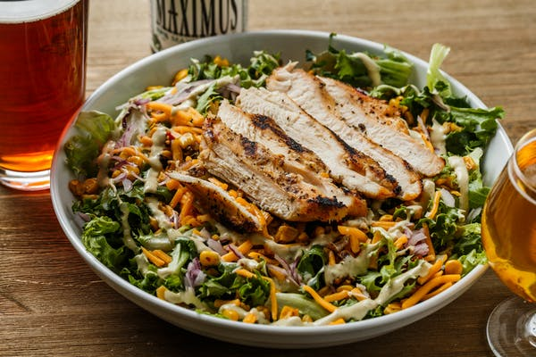 Kickass Grilled Chicken Salad