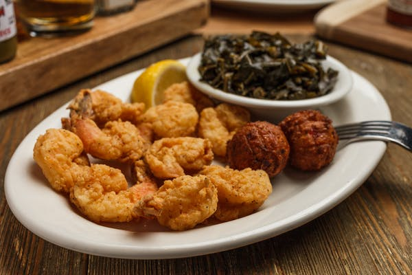 Golden Fried Jumbo Shrimp