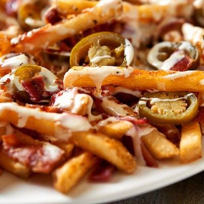 Bacon Jalapeño Cheese Fries