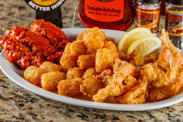 Fried Shrimp & Tender Combo