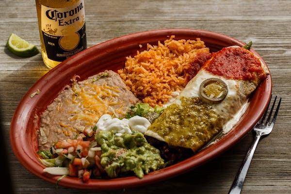 34. Burrito California