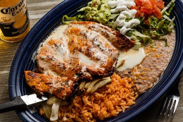 40. Chicken Breast El Rancho Style