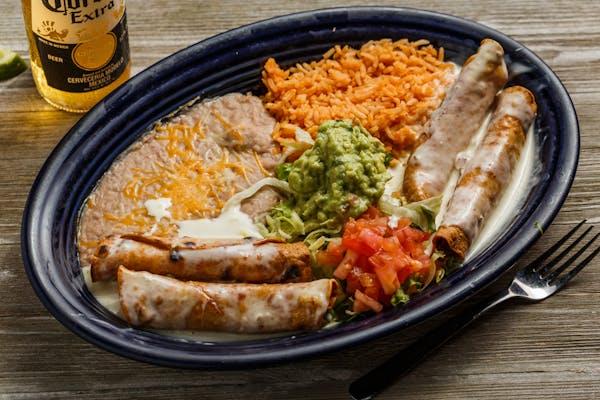 42. Taquitos Mexicanos