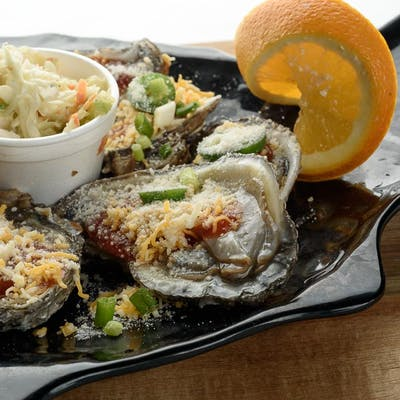 Oyster Nachos