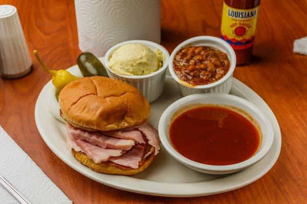 Ham Sandwich Combo