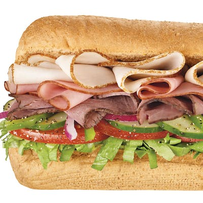 Turkey Breast & Black Forest Ham Sub