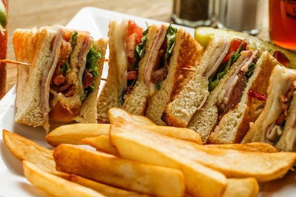Crockmiers Classic Club Sandwich