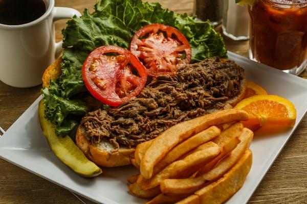 New Orleans Roast Beef Debris Po-Boy