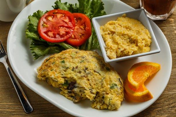 Crabmeat Three Egg Omelet