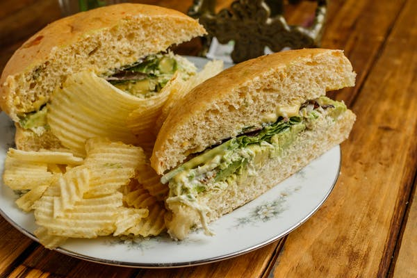 Chicken Avocado Salad Sandwich