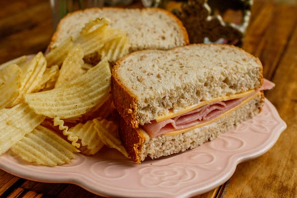 Ham & Cheese Sandwich Brown Bag