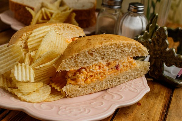Pimento Cheese Sandwich Brown Bag