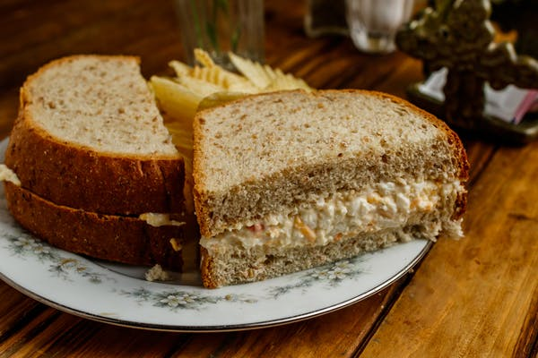 Egg Salad Sandwich Brown Bag