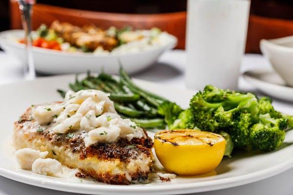Crab-Crusted Cod