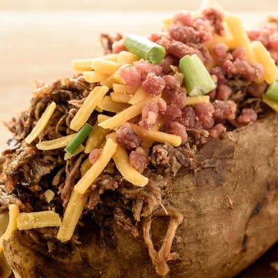 Stuffed & Topped Potato