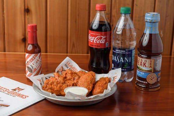 (6 pc.) Wings Coca-Cola Combo