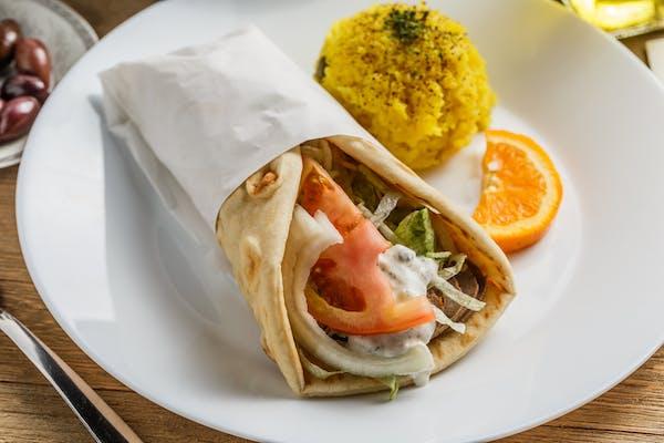 Chicken Kabob Sandwich