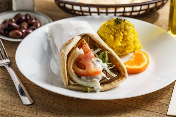 Beef Shawarmah Sandwich