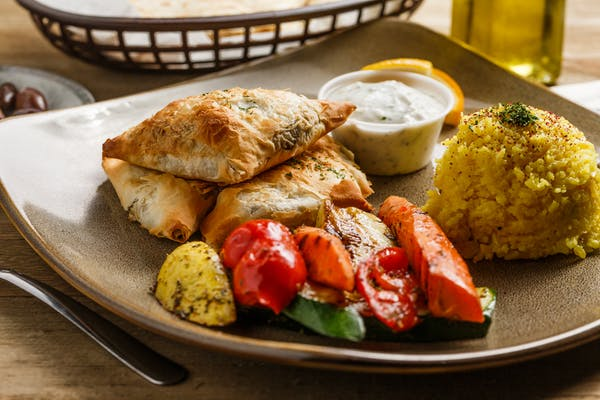 Vegetarian Krass Pastry Plate