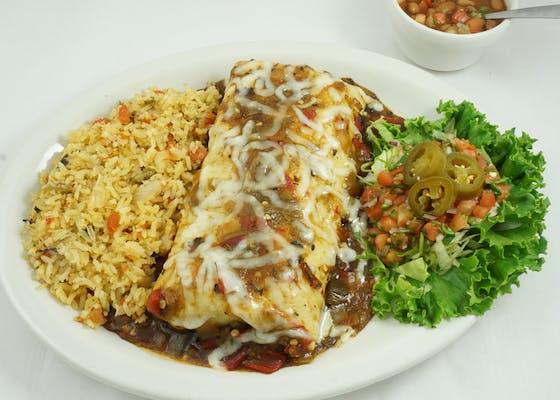 Fajita Beef Burrito