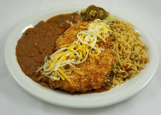 Elvis Green Chile Fried Chicken