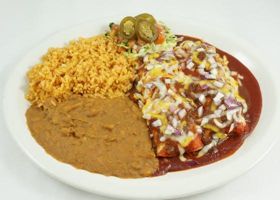Classic Tex-Mex Enchiladas