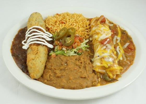 Relleno & Enchilada