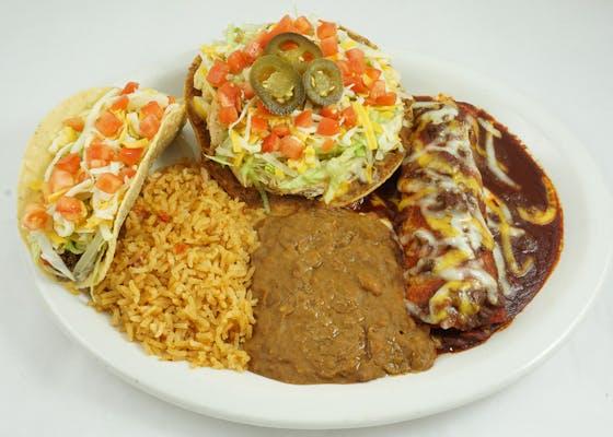 Enchilada, Taco, & Chalupa